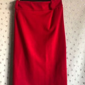 Dresses & Skirts - Blaze Red Pencil Skirt